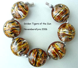 Golden Tigers of the Sun